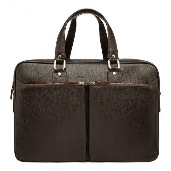 мужская сумка для документов из натуральной кожи Blackwood