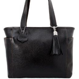 сумки женские кожаные черные