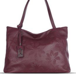 купить кожаную сумку с тиснением