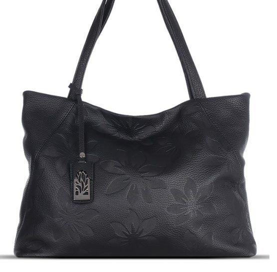 сумки из натуральной кожи с тиснением