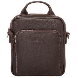 кожаная мужская сумка через плечо купить Москва