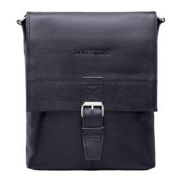 натуральная кожаная мужская сумка через плечо