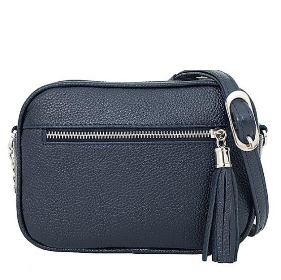 кожаные сумки синего цвета