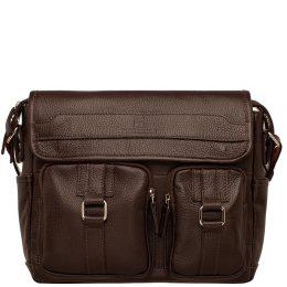 сумка для документов мужская через плечо кожаная