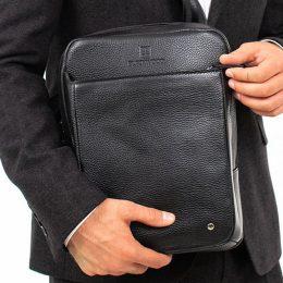 сумка вертикальная мужская