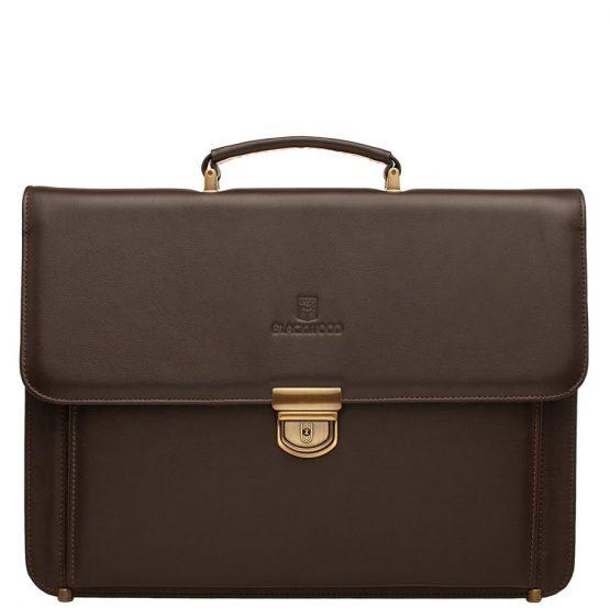 мужские кожаные портфели коричневые